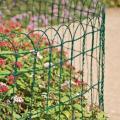 Cerca de jardim de plastico