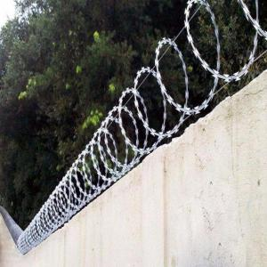 Proteção para muro concertina