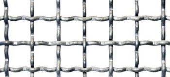 Telas quadradas onduladas